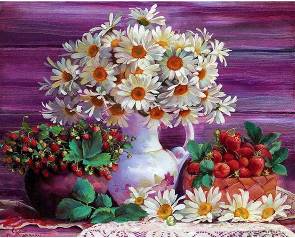 Max 73% Luxury OFF Diamond Embroidery Large DIY 5D Flowers 80 Kits Painting