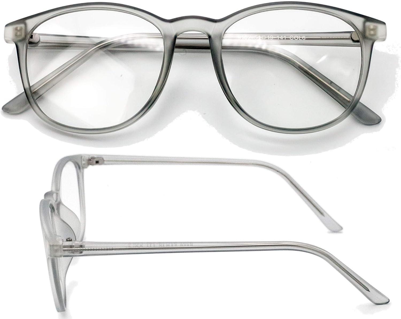 Unisex Blue Light Block Glasses Computer Women Men Eye Strain Round Frame Gaming Screen Glare Blocker Lens Uv Filter Sleep