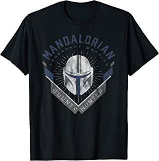 Star Wars The Mandalorian Legendary Warrior Bounty Hunter T-Shirt