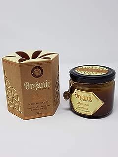 Song of india Madurai Jasmine Creamy Organic Soy Wax & Beeswax Candle