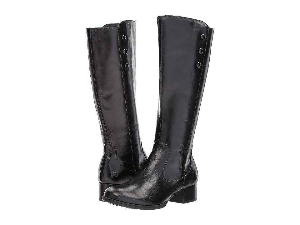 Born Belindah (Black Full Grain Leather) Women
