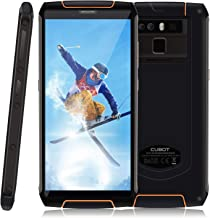4G Rugged Smartphone CUBOT King Kong 3 IP68 Waterproof Android 8.1, 5.5 Inch HD+, Dual SIM Unlocked, 6000mAh, 4GB+64GB, 13MP+16MP Dual Rear Cameras, Octa-Core, NFC, OTG, Fingerprint Sensor, GPS