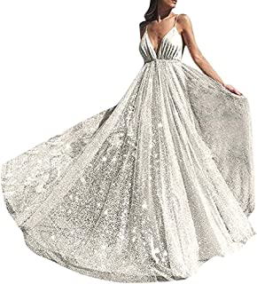 Party Dresses for Women Sexy,Formal Bridesmaid Evening Ball Prom Dresses Gown Long Wedding Cocktail Dress