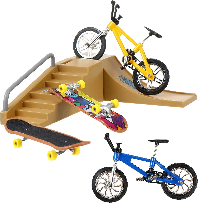Import Be super welcome IMIKEYA 1 Set 18pcs Mini Toys Finger Skateboard Tiny