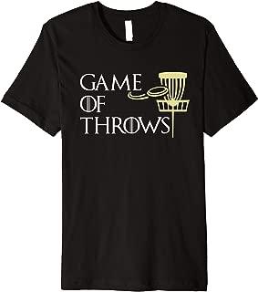 Funny Game Of Throws Disk Golf Men Women Gift Premium T-Shirt
