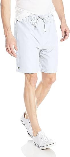 Amazon Com Lacoste Pantalones Cortos Deportivos Para Hombre Clothing