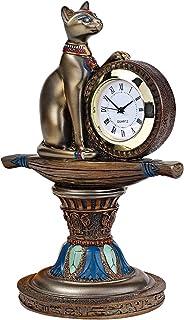 古代エジプト バステト神の祭壇風 時計 彫刻/Design Toscano Bastet's Egyptian Altar Timepiece(並行輸入品