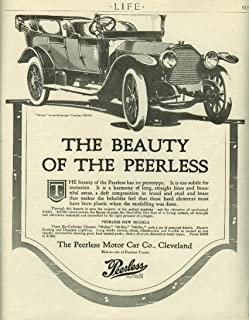 The Beauty of the Peerless 48-Six 7-passenger Touring Car ad 1913