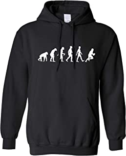 Sports Unisex Hoodie The Evolution of A Rugby Player