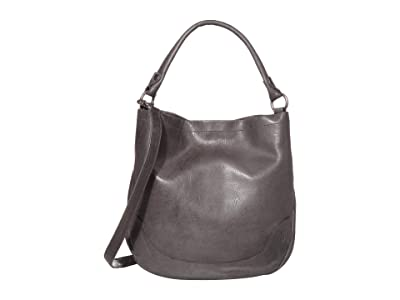Frye Melissa Hobo (Carbon) Hobo Handbags
