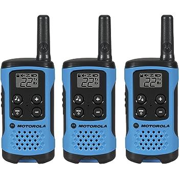 Motorola T100TP Talkabout Radio, 3 Pack