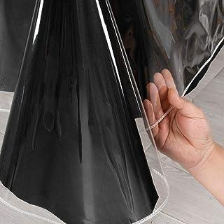 مستطیل رومیزی پلاستیکی Hiasan Clear - 100٪ ضد آب ضد روغن محافظ رومیزی شفاف وینیل شفاف ، 60 84 84 اینچ