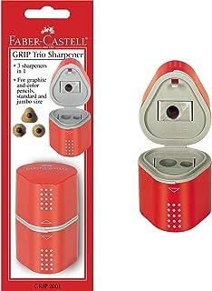 Faber-Castell Grip Trio Sharpener Arts and Crafts, Multi