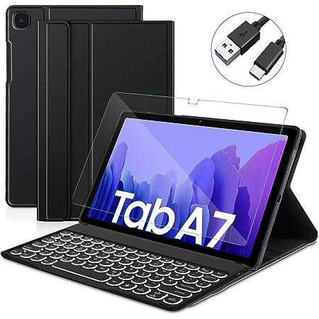 Sross Tastatur Für Samsung Galaxy Tab A7 Samsung Computer Zubehör