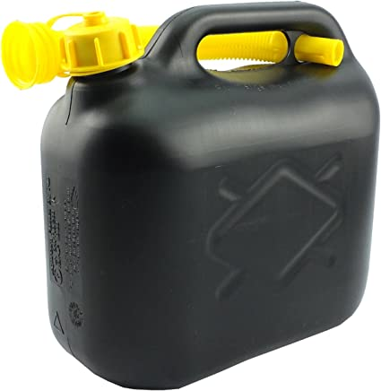 Petrol Can - In Assorted capacity Of 5L, 10L With Pouring Spout (Pack of 1, 5L): image
