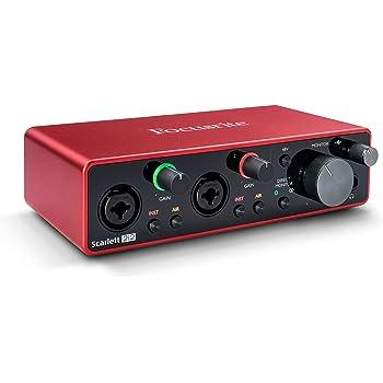 Focusrite Scarlett 2i2 3rd Gen - Interfaz de audio USB: Amazon.es: Instrumentos musicales