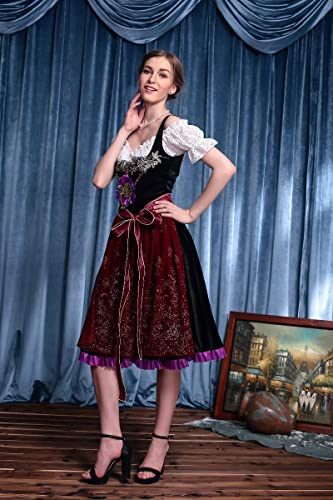 Simmia Halloween Kostüm,Bar Kellner Kleidung Bayerisches Bier Kleid Meni Stuffed Beer Festival, 6641, M