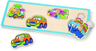 VIGA Flat Puzzle - Transportation