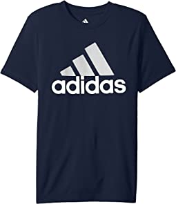 adidas Kids CLIMA Performance Logo Tee (Big Kids)