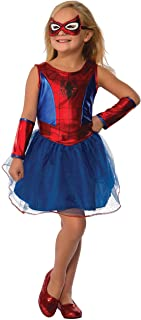 Rubie's Marvel Classic Child's Spider-Girl Costume, Small Multicolor