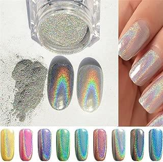Pure Vie 1 Box 1g Nail Glitter Shinning Mirror Chrome Nail Powder Manicure Pigment #6