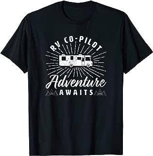 RV Co-Pilot Funny Motorhome RV Travel T-shirt for Men Women