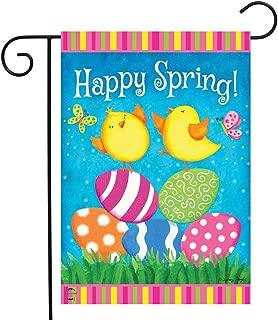 Briarwood Lane Happy Spring Chicks Garden Flag Easter Eggs 12.5
