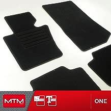 Alfombrillas-Alfombra a medida para coche MTM One en moqueta negra