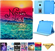 Folio Case for Fire HDX 7 - JZCreater Slim Fit Leather Standing Protective Cover with Auto Sleep/Wake for Amazon Kindle Fire HDX 7.0 Inch 3rd Generation Tablet, Dreams