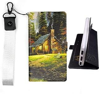 Lovewlb Case for Unnecto Quattro M U615 Cover Flip PU Leather + Silicone case Fixed HOME