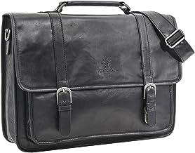 Gusti Cuero studio Greg Maletín Ejecutivo Portátil 17'' Portafolios Impermeable Business A4 Vintage Retro Unisex 2H5-20-6wp