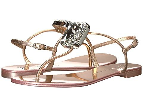 Giuseppe Zanotti Hollie Big Diamond Thong Sandal