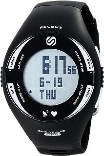 Soleus SG008-004 - Pulsómetro con GPS, Color Blanco y Negro