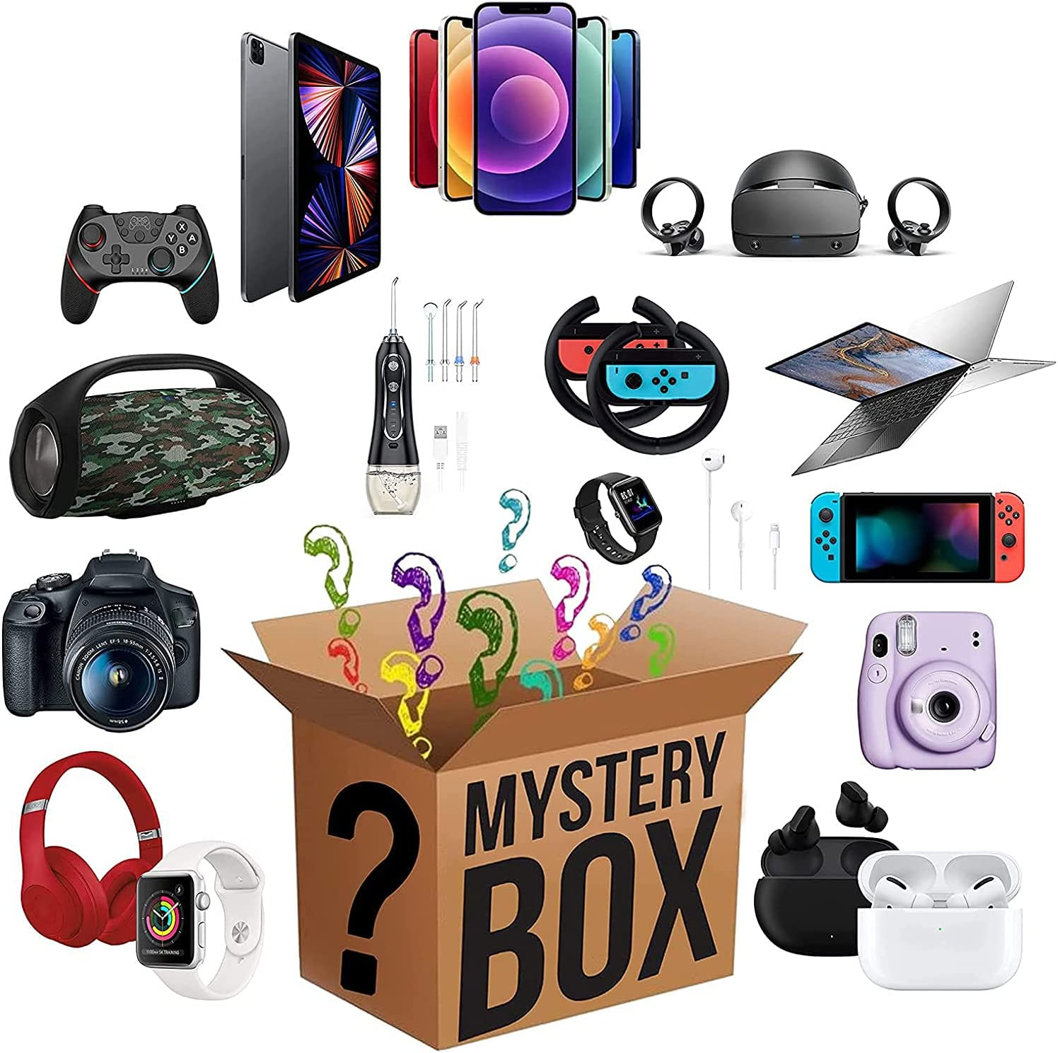 Mytery Box Electronic Max 80% OFF Products Makes Ranking TOP7 Gifts Nice Surpris Surprise