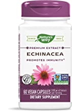 Nature's Way Echinacea Angustifolia, 500 mg of Extract per Serving, 60 Capsules