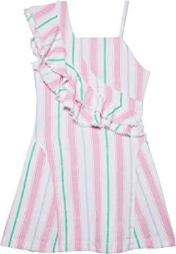 Catrina Ruffle Dress (Big Kids)