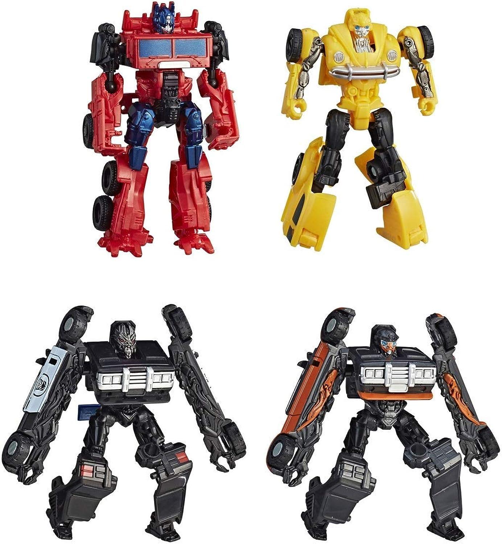Transformers Jungen Bumblebee Movie Energon Igniters Speed Series ActionFiguren Multi, 7,6 cm