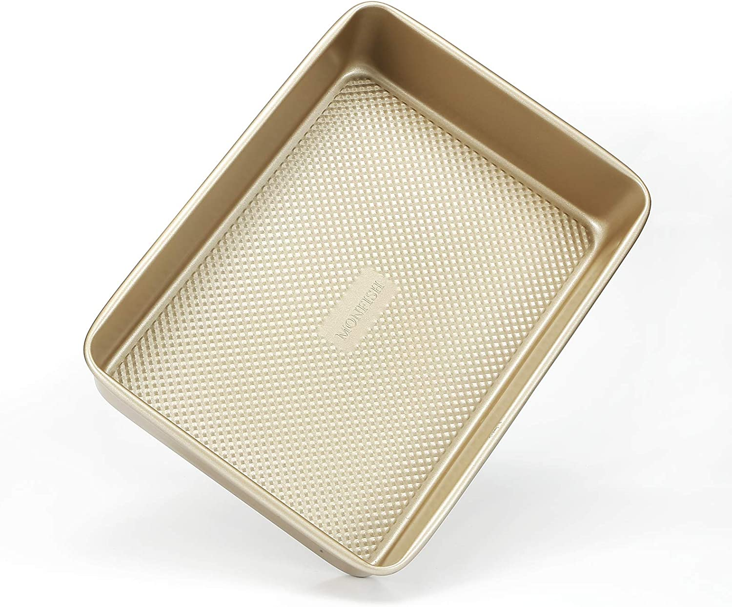 MONFISH Rectangle Cake Pan National products Deep brownie Non Oblong Super sale Stic