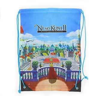 Official Ni No Kuni II Artwork Drawstring Bag