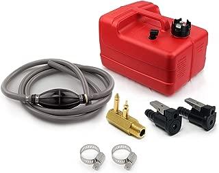 Five Oceans 3 Gallon Marine Portable Fuel Tank Kit (OMC/Evinrude/Johnson) 5/16 FO-4129-C2
