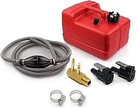 Five Oceans 3 Gallon Marine Portable Fuel Tank Kit (OMC/Evinrude/Johnson) 5/16