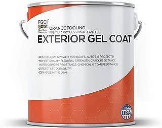 Orange Tooling Exterior Gel Coat KIT, 1 Gallon W/ 2 OZ MEKP, Fiberglass Coatings, Inc, Professional Marine Specialists, Boat Exterior Hulls, Boat Interior Decking, DIY Projects