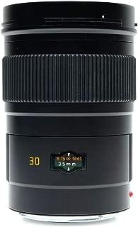 Leica Elmarit-S 30mm F/2.8 Aspherical Lens for S System Medium Format Cameras