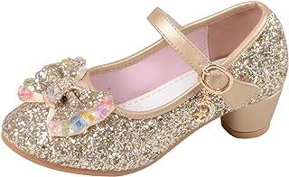Amazon.es: Dorado Zapatos para niña Zapatos: Zapatos y