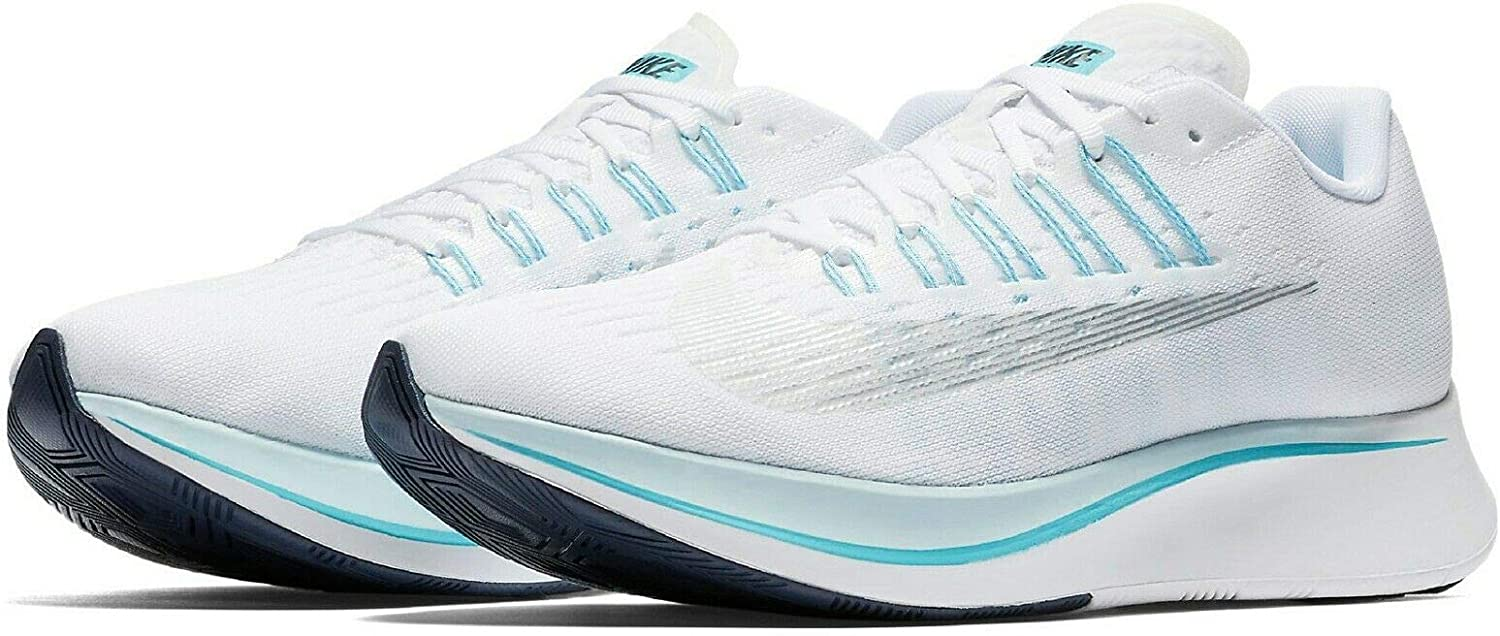 Nike WMNS Zoom Fly 897821-104 White bluee Silver Women's Running shoes