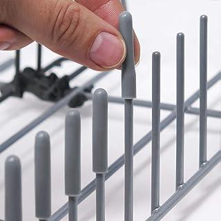 comprar comparacion Las Tapas ORIGINALES de Silicona para Lavavajillas (Gris, juego de 150) Por Smith's® - Protección contra Rasguños & Oxidac...