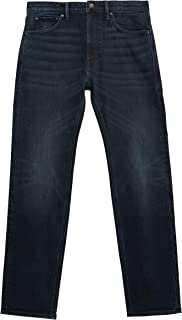 Marks & Spencer Men's Straight Vintage Wash Stretch Jeans