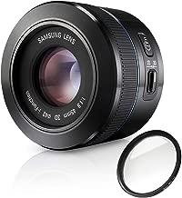 Samsung 45mm f/1.8 [T6] 2D/3D Lens (Black) with Pro Filter (Certified Refurbished)