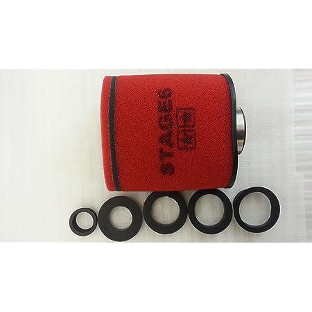 Ramair Filter Mr 004 Motorrad Pod Air Filter Schwarz 43 Mm Auto