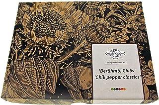 Berühmte Chilis - Samen-Geschenkset mit 6 klassischen scharfen Sorten